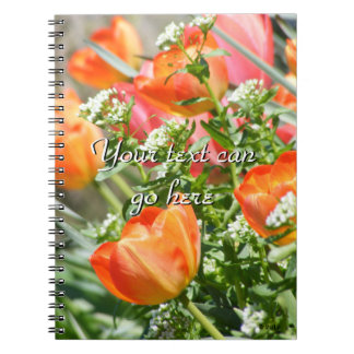 Spring Flowers Note Books