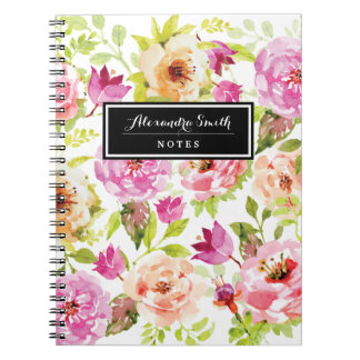 Spring Flowers Notebooks