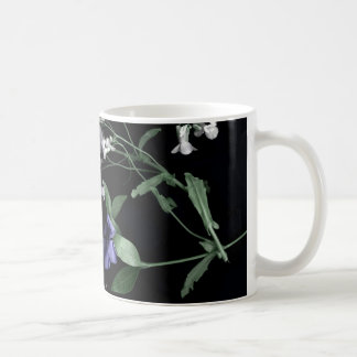 Spring flowers on black Classic Mug