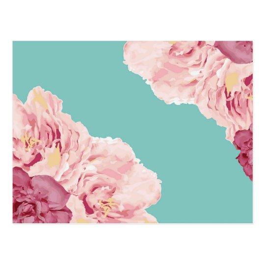 Spring Flowers Postcard