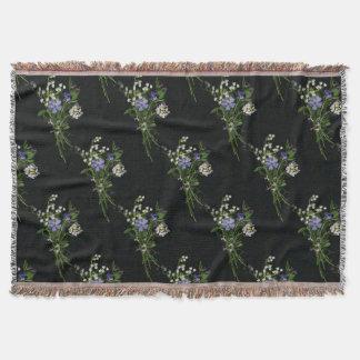 Spring flowers Throw Blanket