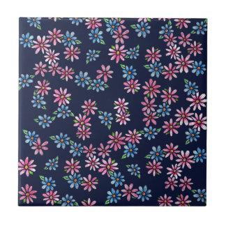 Spring Flowers Tile