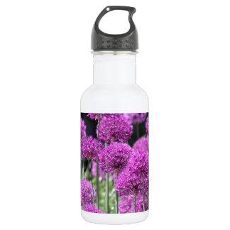 Spring Forest Purple Flowers of Garlic