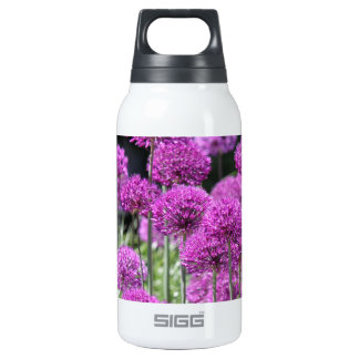 Spring Forest Purple Flowers of Garlic Insulated Water Bottle