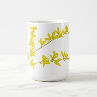 Spring Forsythia Coffee Mug