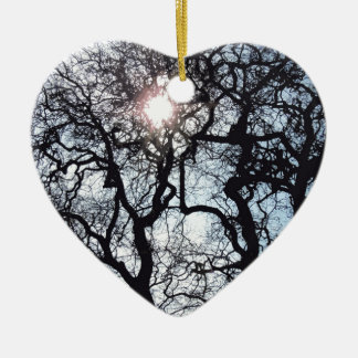 SPRING FORWARD CERAMIC HEART ORNAMENT