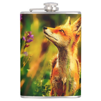 Spring Fox Hip Flask