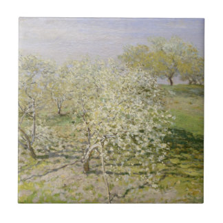 Spring Fruit Trees in Bloom Tile