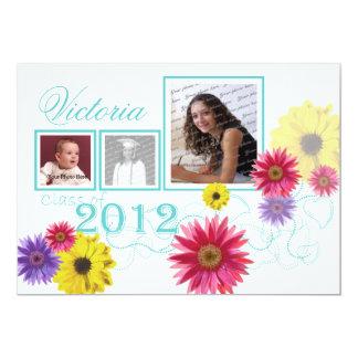 Spring Garden 2012 Graduate Tri Photo Card