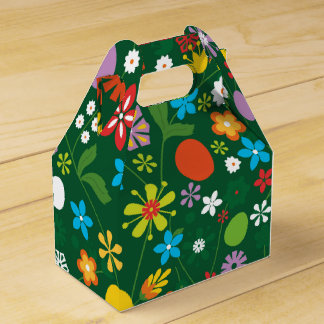 Spring Garden Party Favor Boxes