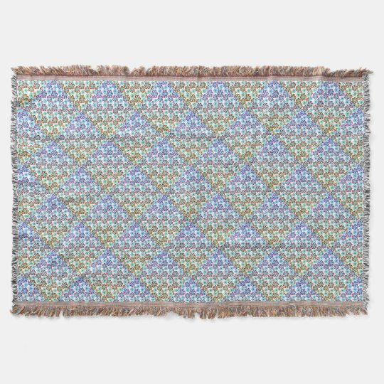 Spring Garden Throw Blanket