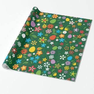 Spring Garden Wrapping Paper