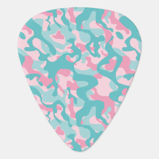 Spring Girly Camouflage Pattern Guitar Pick