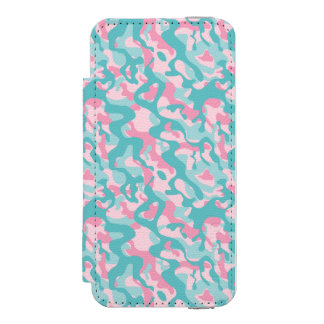 Spring Girly Camouflage Pattern Incipio Watson™ iPhone 5 Wallet Case
