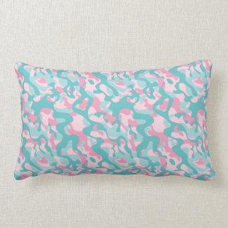 Spring Girly Camouflage Pattern Lumbar Pillow