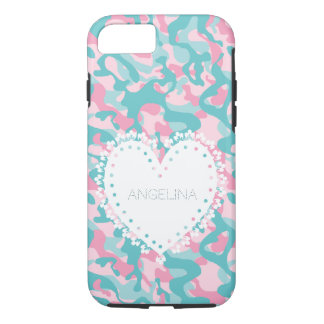 Spring Girly Camouflage Personalize Case-Mate iPhone Case