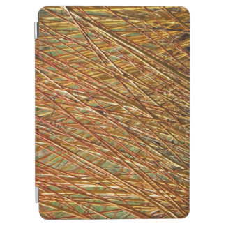 Spring Gold Branches Natural Pattern iPad Air Cover