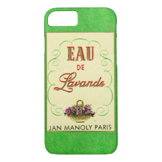 Spring Green Antique French Perfume Phone Case