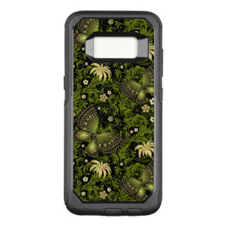 Spring Green-gold Pattern OtterBox Commuter Samsung Galaxy S8 Case