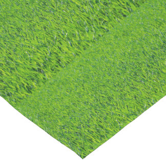 Spring Green Grass Table Runner