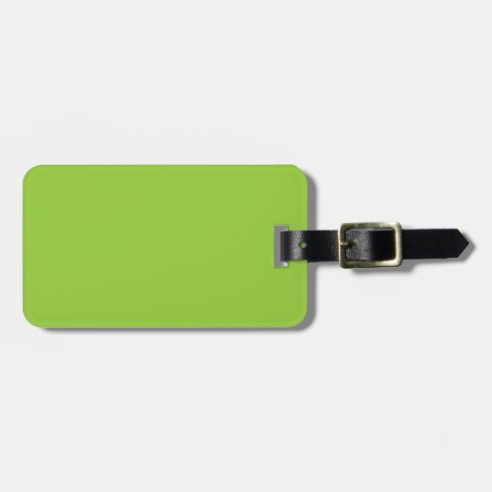 Spring Green - Light Green Template Blank Luggage Tag