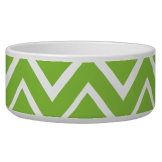 Spring green whimsical zigzag chevron pattern