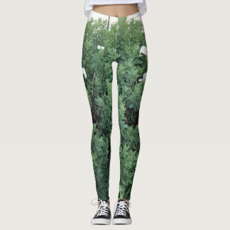 Spring Greenery Leggings designed by Karen Pratt