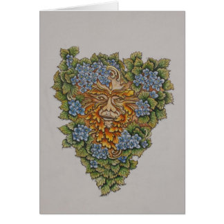 spring greenman card