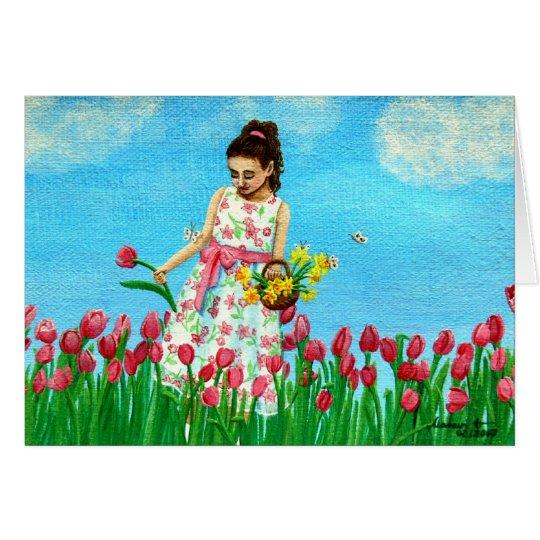 """""""Spring Greetings"""" Card"""
