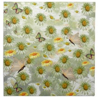 Spring has arrived printed napkin