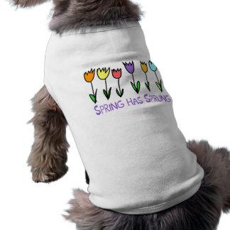 Spring has Sprung Doggie Tshirt