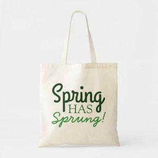 Spring Has Sprung! | Fun Green Gradient Tote Bags