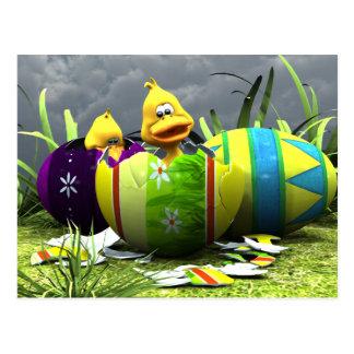 Spring Hatching Postcard
