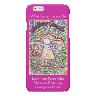 Spring Hearts Angel Cancer Cannot Do iPhone 6 Case