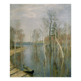 Spring, High Water, 1897 Poster