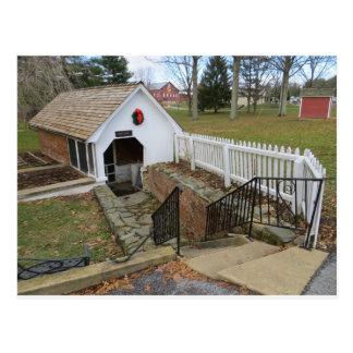 Spring House, Carroll County Farm Museum Postcard