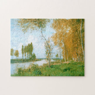 Spring in Argenteuil Monet Fine Art Jigsaw Puzzle