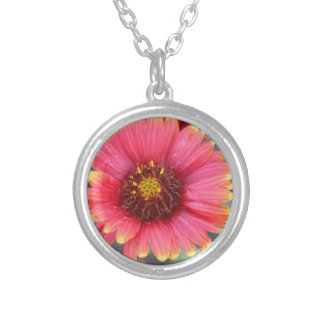 Spring in Bloom Silver Plated Necklace