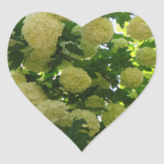 Spring in Canberra Heart Sticker