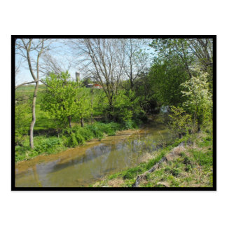 ~ Spring in Lancaster County ~ 76 Postcard