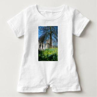 Spring in Museum Gardens Baby Romper