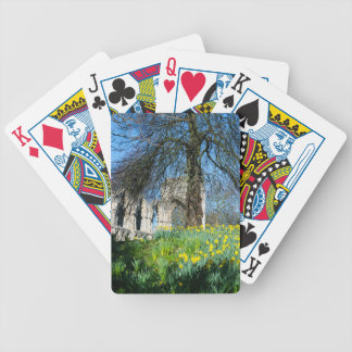Spring in Museum Gardens Bicycle Playing Cards
