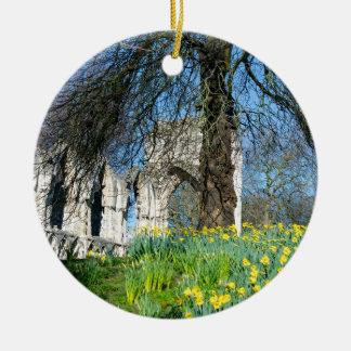 Spring in Museum Gardens Ceramic Ornament