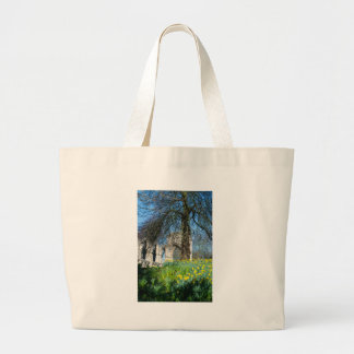 Spring in Museum Gardens Large Tote Bag