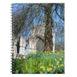 Spring in Museum Gardens Notebook