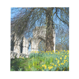 Spring in Museum Gardens Notepad