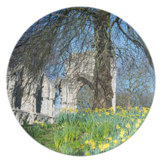 Spring in Museum Gardens Plate