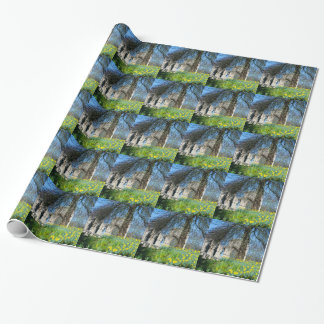 Spring in Museum Gardens Wrapping Paper