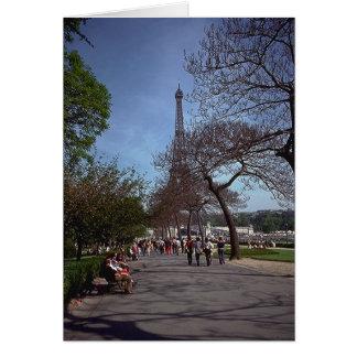 Spring in Paris Card