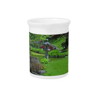 Spring in the Schedel Garden Beverage Pitcher